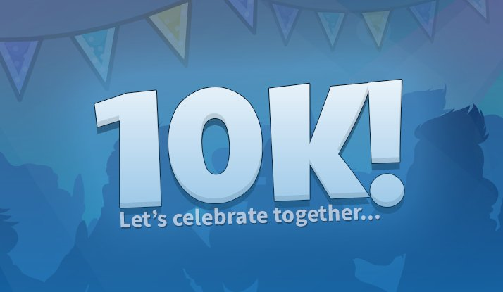 10,000 Players Celebration Event