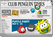 Club Penguin Times Issue 53