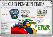 Club Penguin Times Issue 69