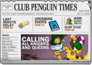 Club Penguin Times Issue 116