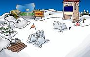 Earthquake Snow Forts
