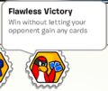 Flawless victory stamp book