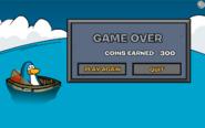 AquaGrabber Game Over