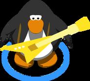 Gold Electric Guitar IG