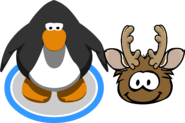 Holiday Party 2020 Brown Puffle IG
