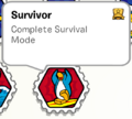 Survivor stamp book