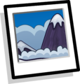 Top Of The Mountain Background Icon
