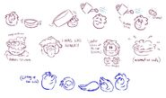 Grey Puffle Cleaning Concept Art