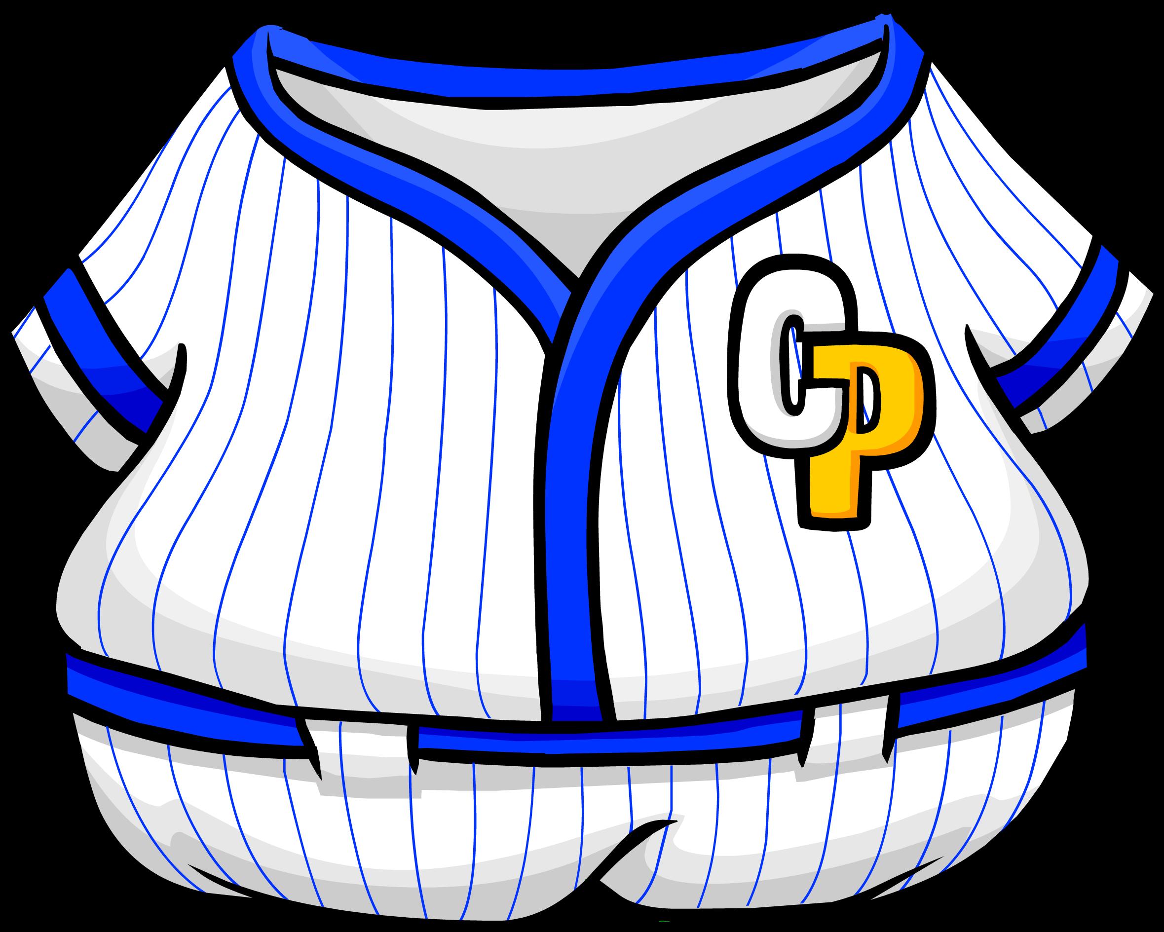 Blue Baseball Uniform