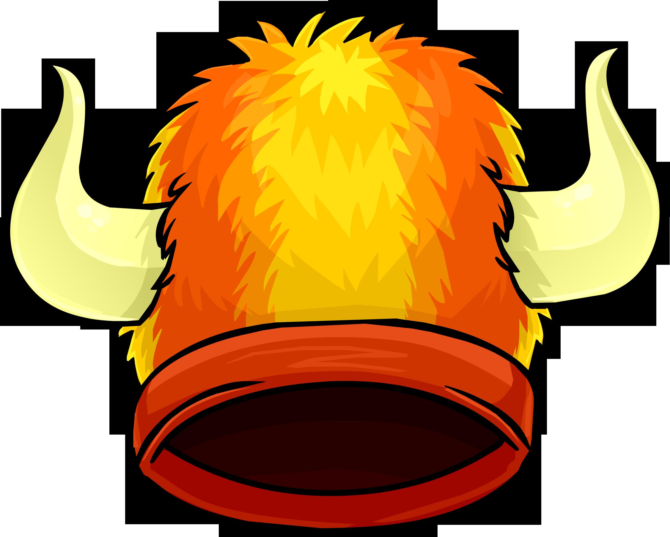 Fuzzy Viking Hat