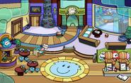 Puffle Party 2020 Ski Lodge