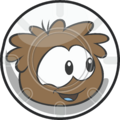 Pufflescape Brown Puffle