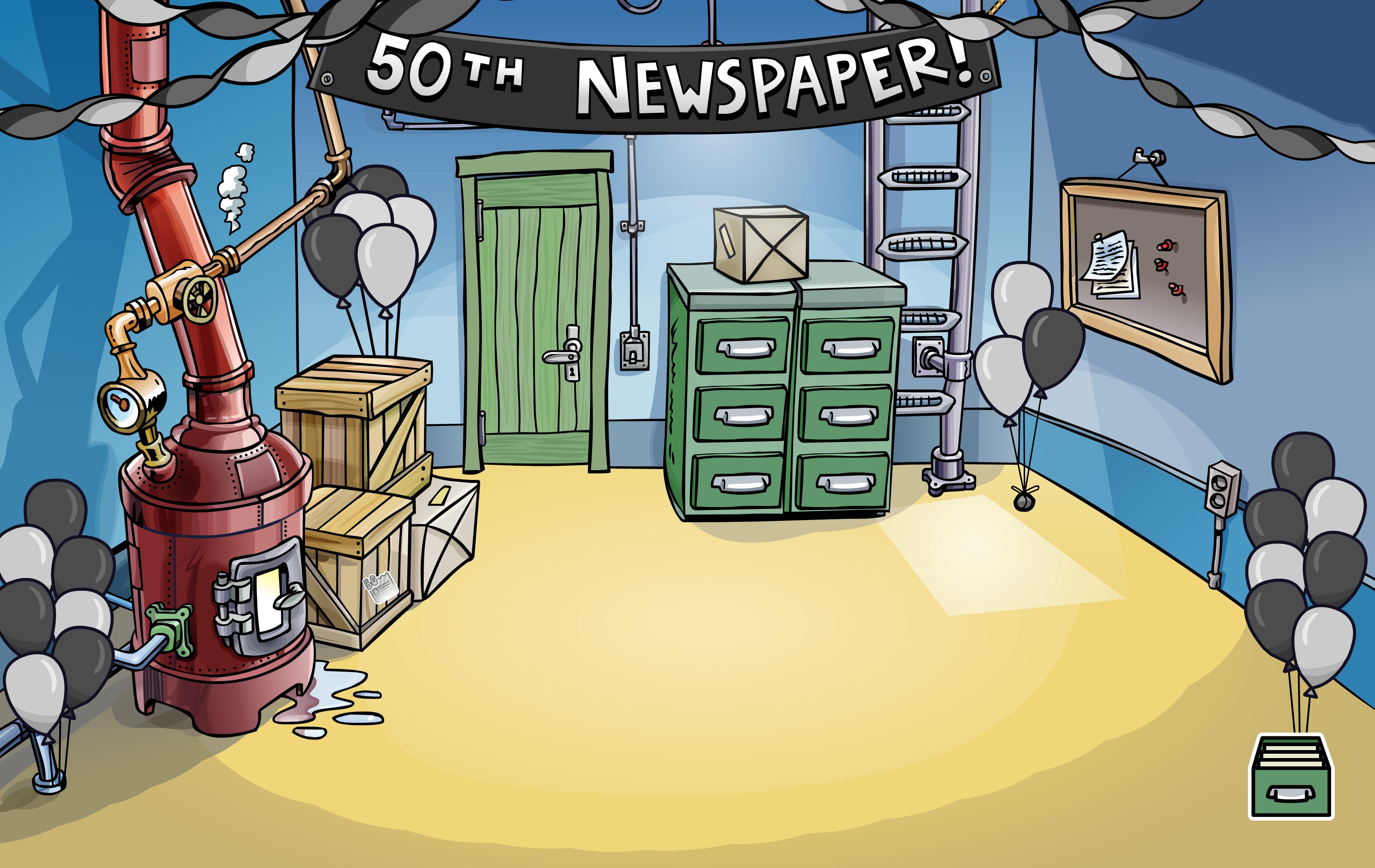 50th Newspaper Event