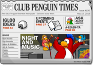 Club Penguin Times Issue 106