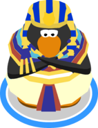 Pharaoh Headdress Pharaoh Costume Crook and Flail Special Wave