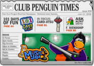 Club Penguin Times Issue 58