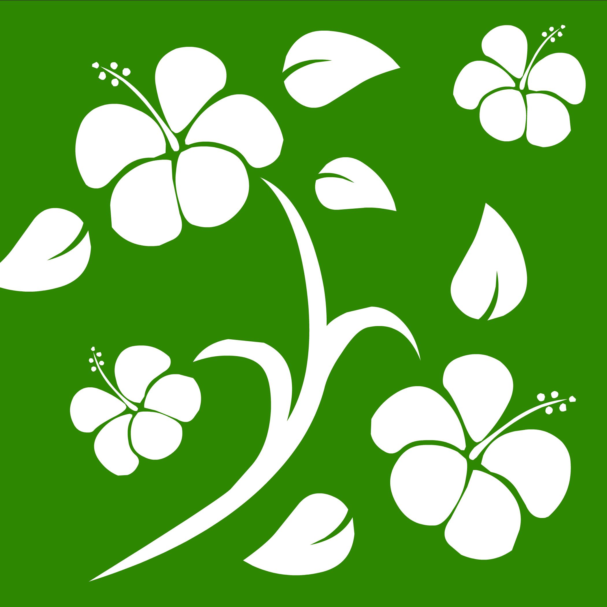 Green Hawaiian Background