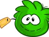 Green Puffle Stuffie