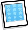 Blue Stars Background Icon