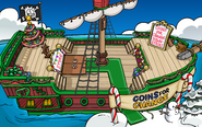 Coins for Change Pirate Ship