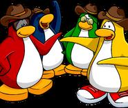 Penguin Band Background Artwork