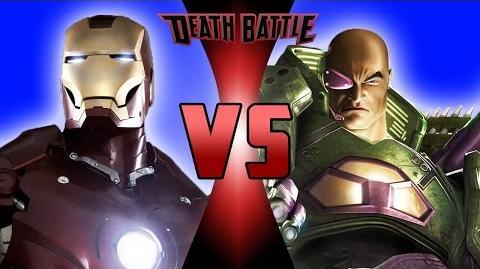 Iron Man VS Lex Luthor DEATH BATTLE!
