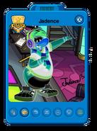 Jadence Playercard