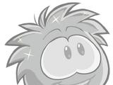 Puffle plateado