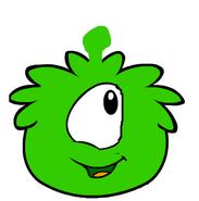 Puffle alien
