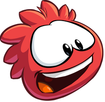 Puffle Rojo 1