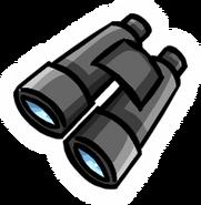 Pin de binoculares
