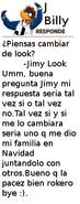 J Billy Responde