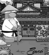 Fondo del sensei ninjago 2