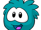 Puffle Azul Verdoso