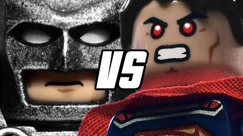 BATMAN VS SUPERMAN - LEGO