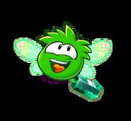 Puffle Esmeralda