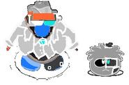 Tesk Sprite Cyborg Con Puffle
