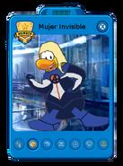 Mujer Invisible Playercard