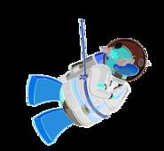 Pingüino Jet-Fury Pose