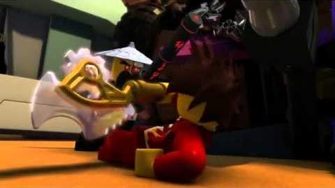 LEGO Ninjago Rebooted Kai Vs Tech Wu Batalla Por La Ciudad de Ninjago DVD Parte 1