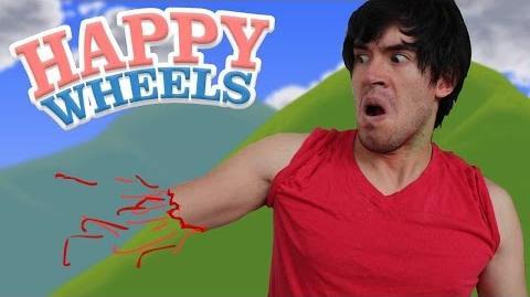 OOPS, AHÍ VA MI BRAZO! Happy Wheels - JuegaGerman