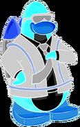 Pingüino-Jet Fury Pose
