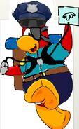 Pingüino animado de Coolkevin98