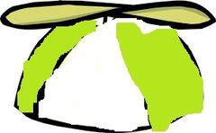 Gorra con helice verde lima.jpg