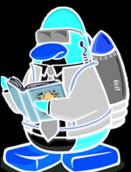 Pingüino Jet-Fury viejo