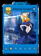 Antorcha Humana Playercard