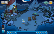 Opération Puffle - Plage