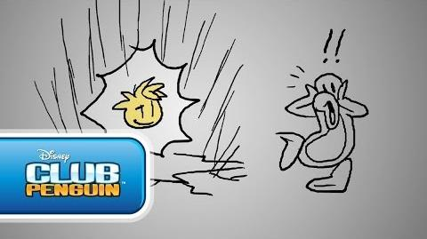 Club_Penguin_Behind_the_Scenes_Gold_Puffle_-_New_Horizons_Part_2