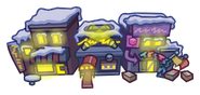 Holiday Party Map Icon Town