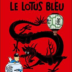 Tintin et le lotus bleu